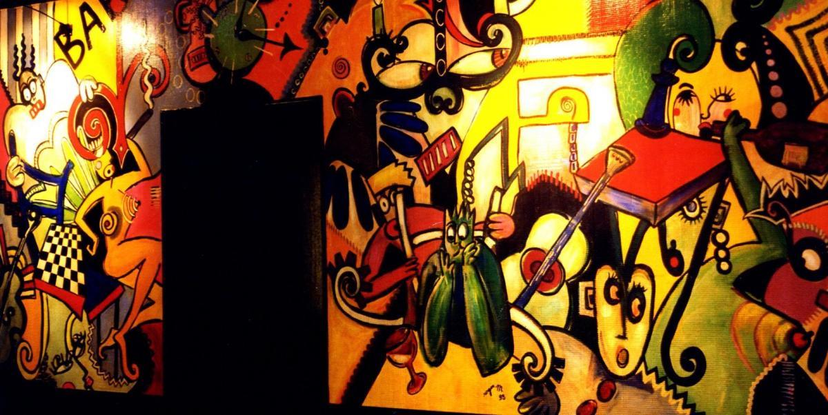1998 fresque murale 300 x 160 les cordeliers 1