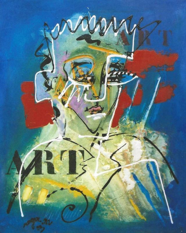 2003 art 61 x 50 acrylique sur toile