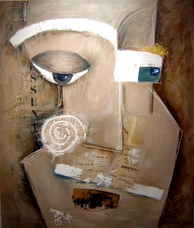 2006 essentiel acrylique sur toile 120 x 100