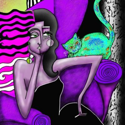 2013 femme sur canape mauve 9